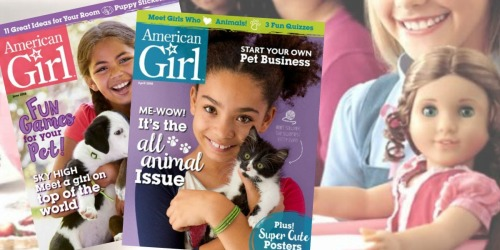 American Girl Magazine Subscription Only $14.95 Shipped (Just $2.49 Per Issue)