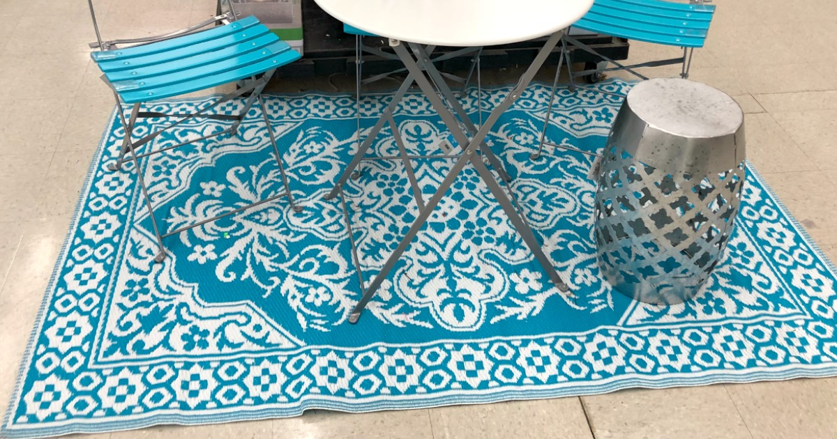 Summer Outdoor Rugs Only 13 50 At Michaels Regularly 30