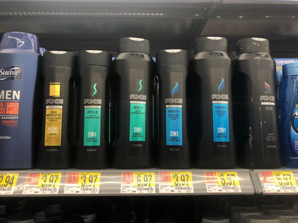 High Value 2 1 Axe Coupon 50 Off Shampoo At Walmart Target Hip2save