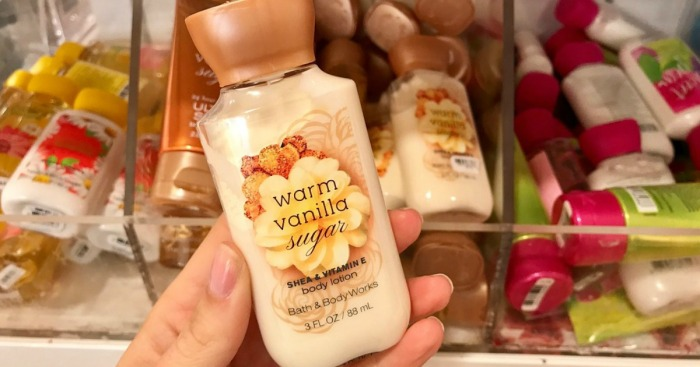 Bath & Body Works Travel-Size Products Just $2.50 Each (Regularly $6)