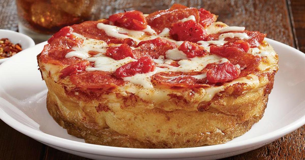 Free Bj S Restaurants Mini Cheese Or Pepperoni Pizza