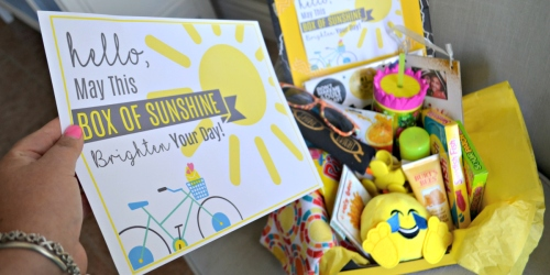 Brighten Someone's Day with a Box of Sunshine