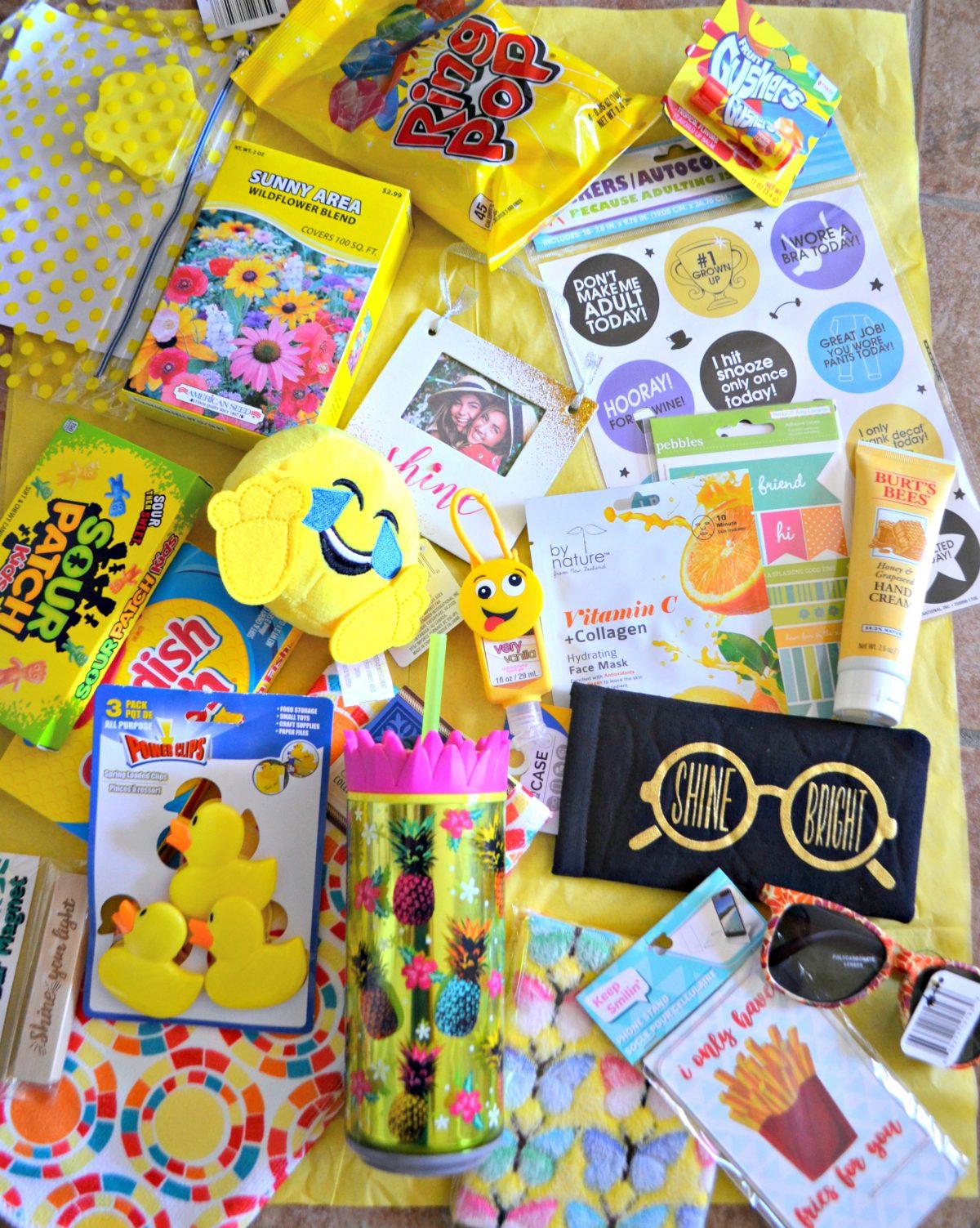 fun spring or summer gift box diy