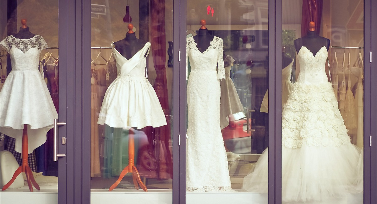 budget wedding tips - look for cheaper dresses