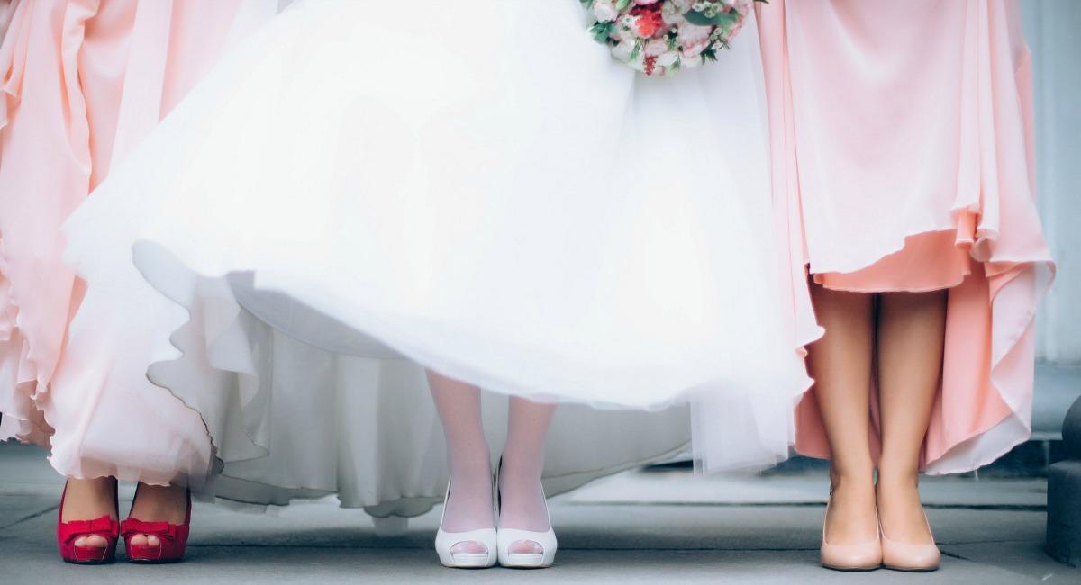 budget wedding tips - budget bridesmaid dresses