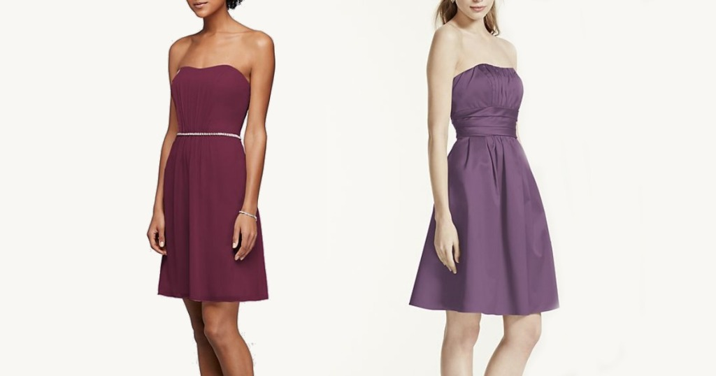 Davids Bridal Bridesmaid Or Prom Dresses Only 2999 Shipped