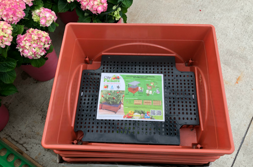 City Pickers Raised Garden Bed Grow Box Only 19 98 Regularly 30 Readers Love These Hip2save