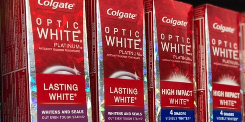 New $1/1 Colgate Toothpaste Coupon = Just 99¢ Each After Walgreens Rewards