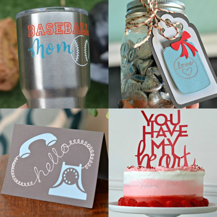 Cricut makes so many fun things, from cards, to cake toppers, and cup decals.