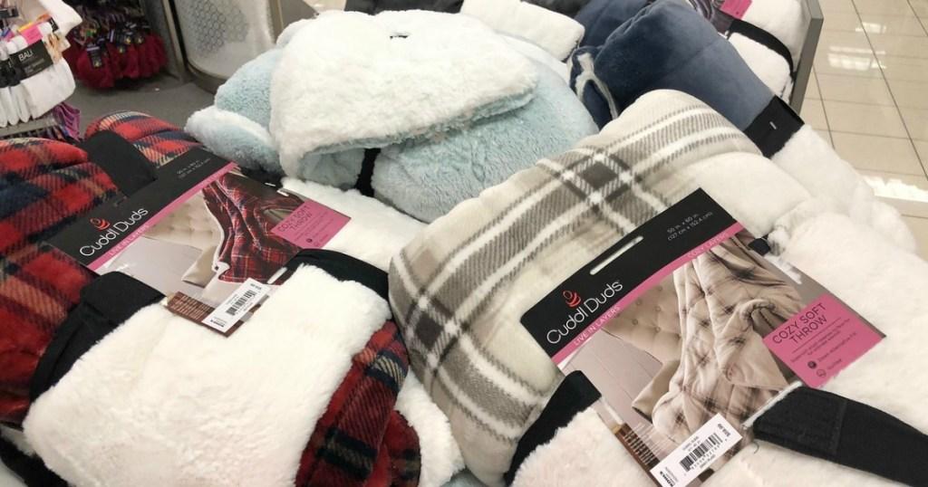cuddle duds blankets