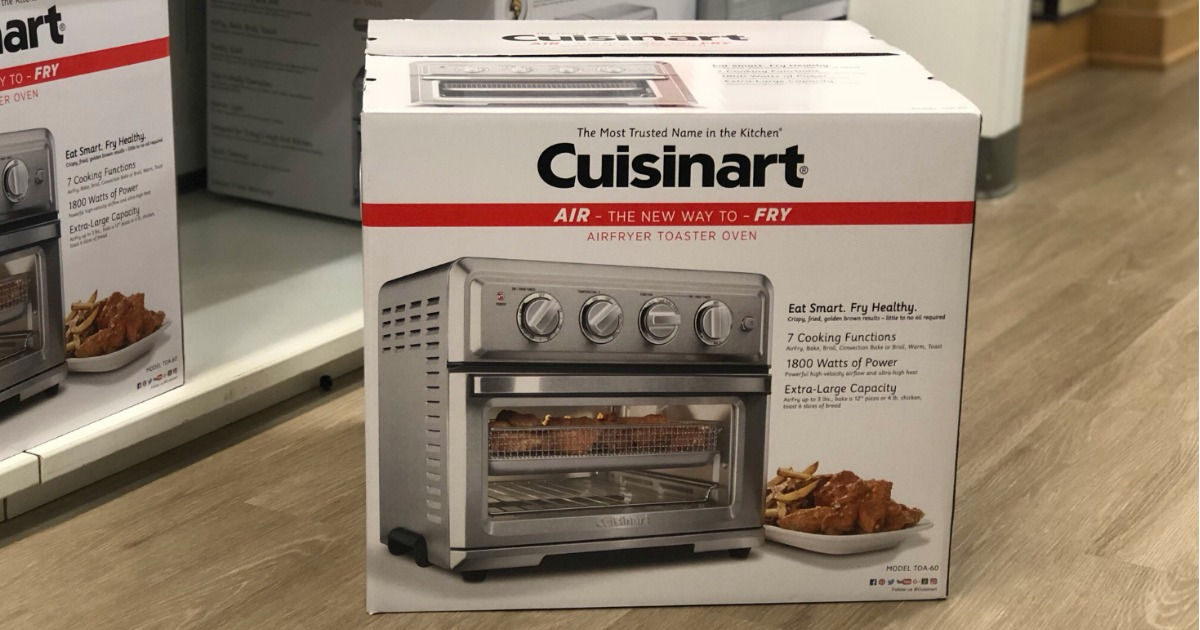 Kohl S Cardholders Cuisinart Air Fryer Toaster Oven Just