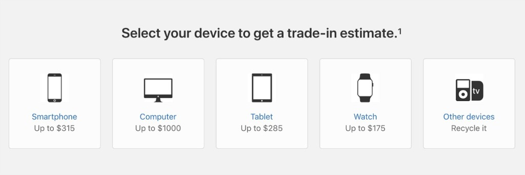 apple giveback program devices eligible for trade in hip2save