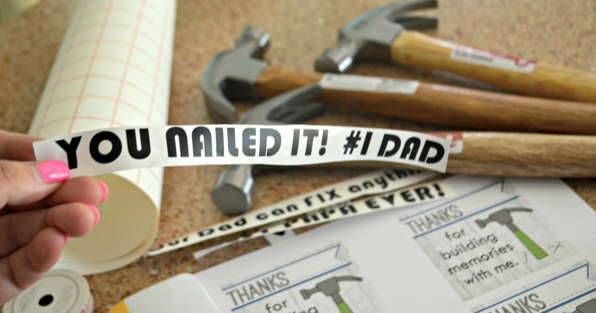 This Fathers Day, a personalized hammer makes a fun, thoughtful, useful gift.