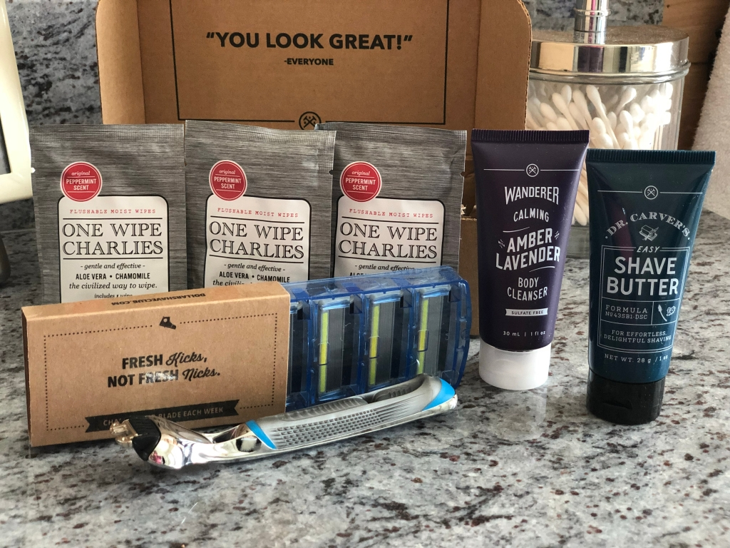 All this ONLY $5 from Dollar Shave Club!