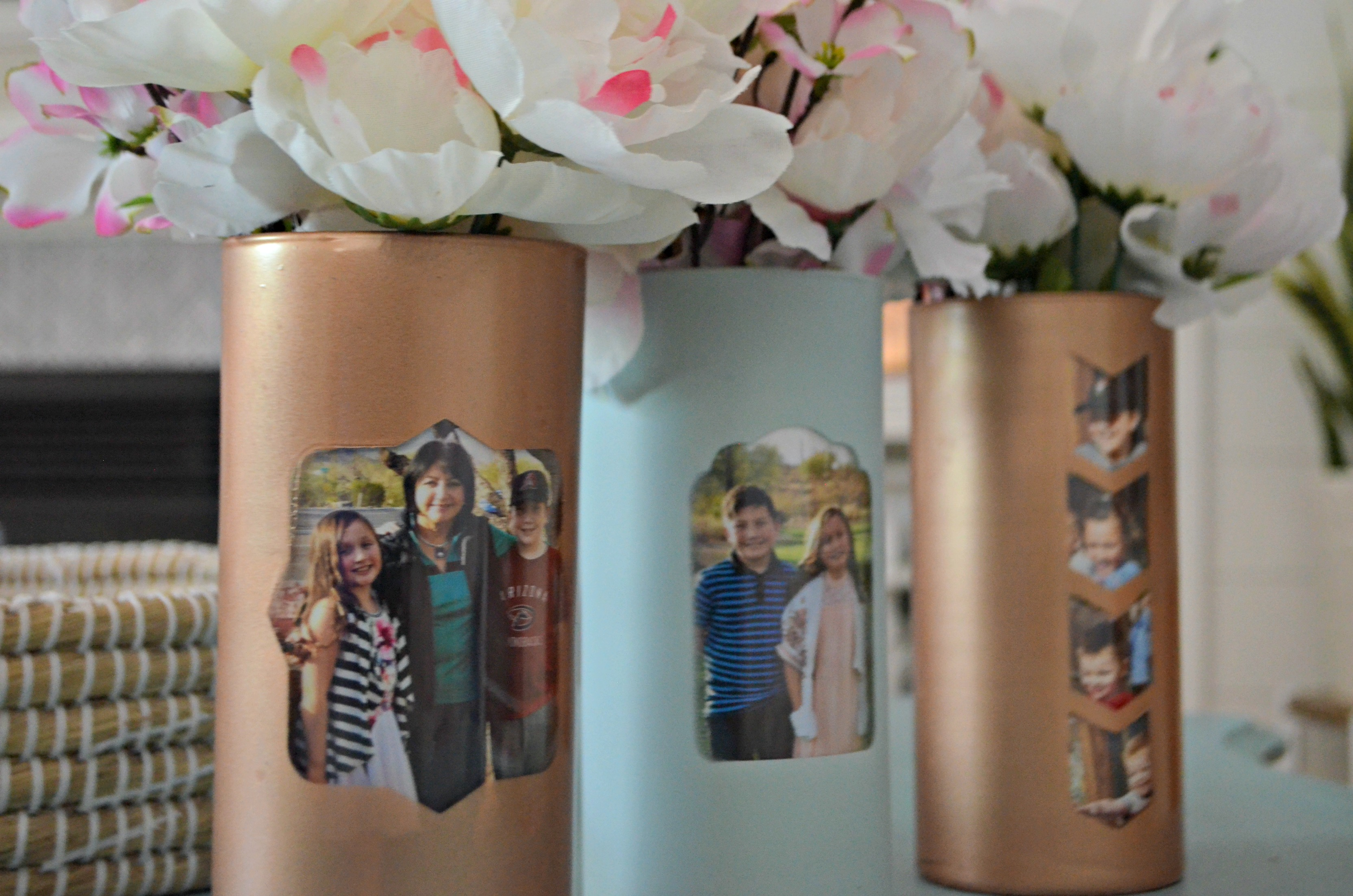 These vases make perfect centerpieces for weddings, graduations, and other festive occasions.