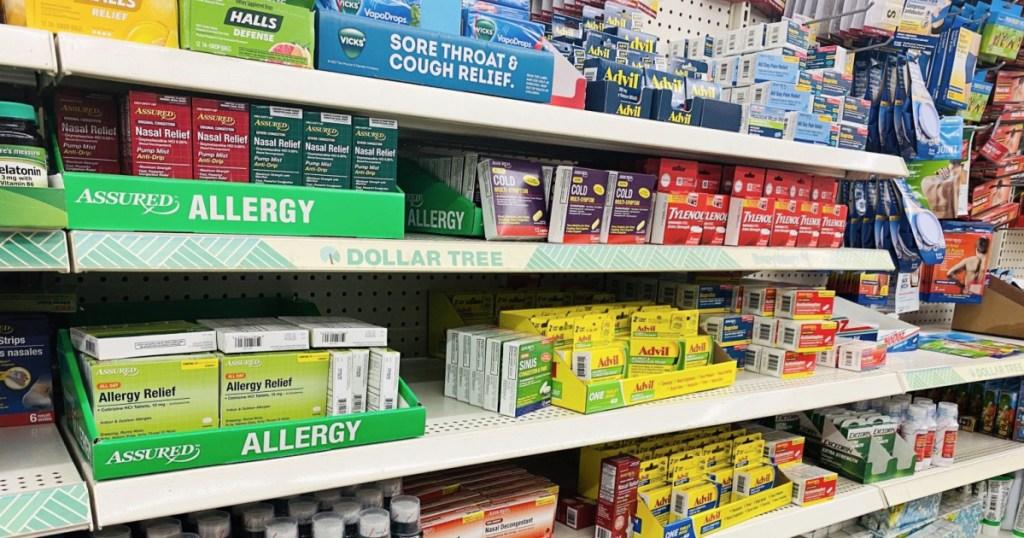 medicine from dollar tree
