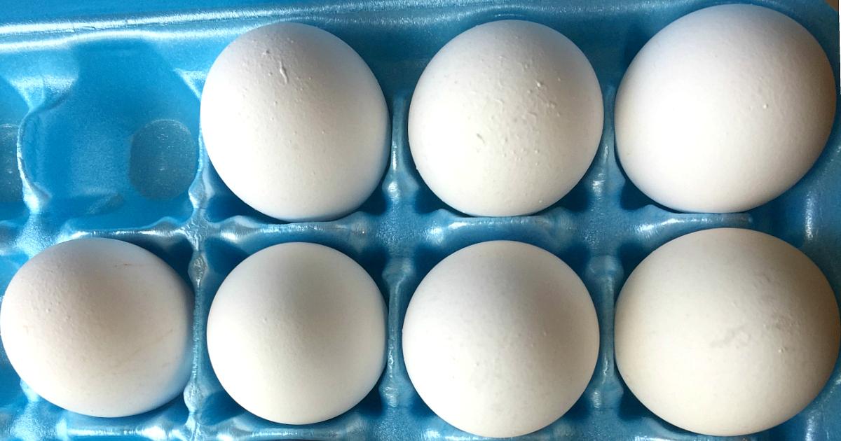 The FDA is recalling 206 million eggs due to potential salmonella contamination.