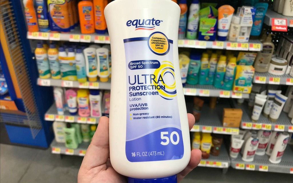 equate ultra protection spf50 sunscreen at walmart hip2save