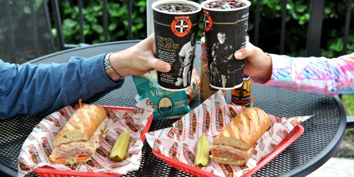 FREE Firehouse Sub Sandwich When You Buy Sub, Chips & Drink (9/1 – 9/3 Only)