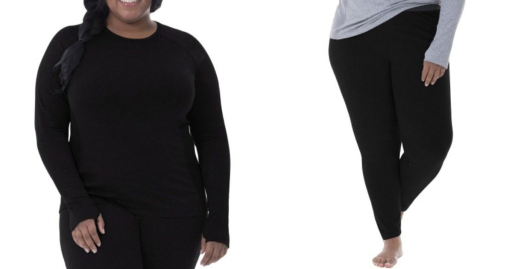 b5fef754394ca Fruit of The Loom Womens Performance Thermal Tops & Pants ONLY $4 ...