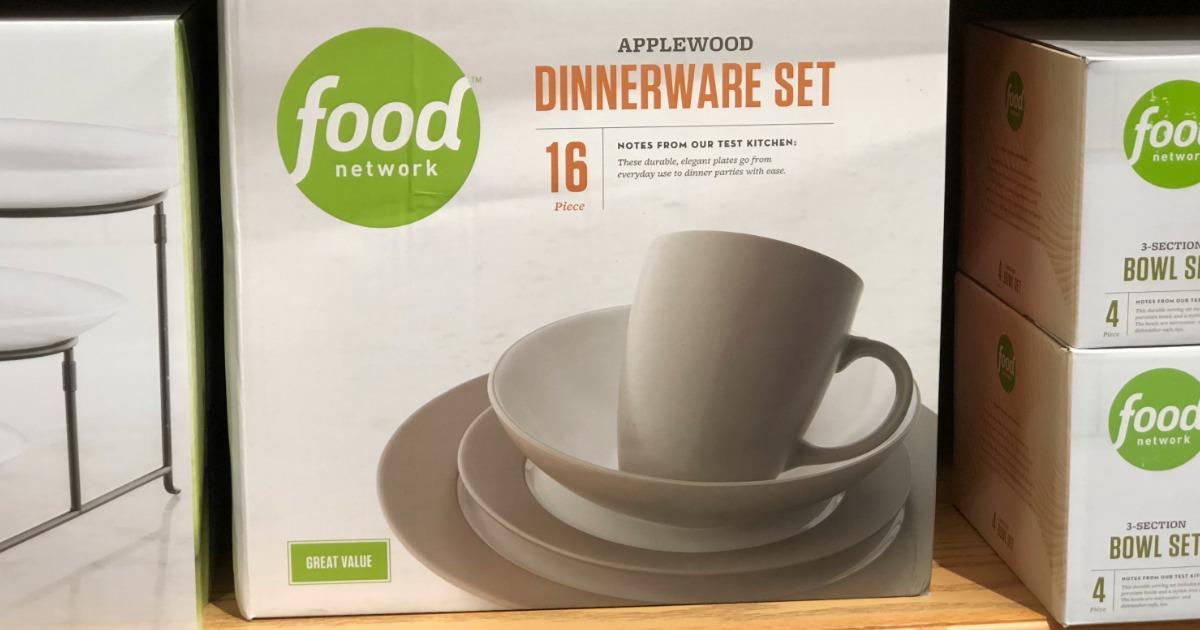 Kohls Christmas Dishes.Food Network 16 Piece Dinnerware Set Just 59 49 Regularly