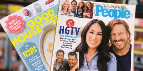 FREE Magazine Subscriptions Including People, Redbook, Sports Illustrated & More