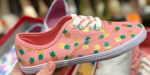 Up to 40% Off American Eagle Girl's Sneakers at Payless