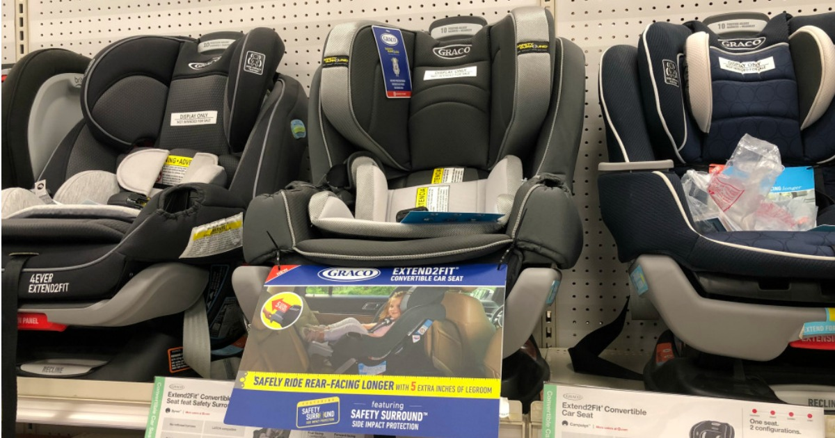 Head On Over To Target Where You Can Score This Highly Rated Graco Extend2Fit Convertible Car Seat In Campaign Print For Only 12799 Shipped Regularly