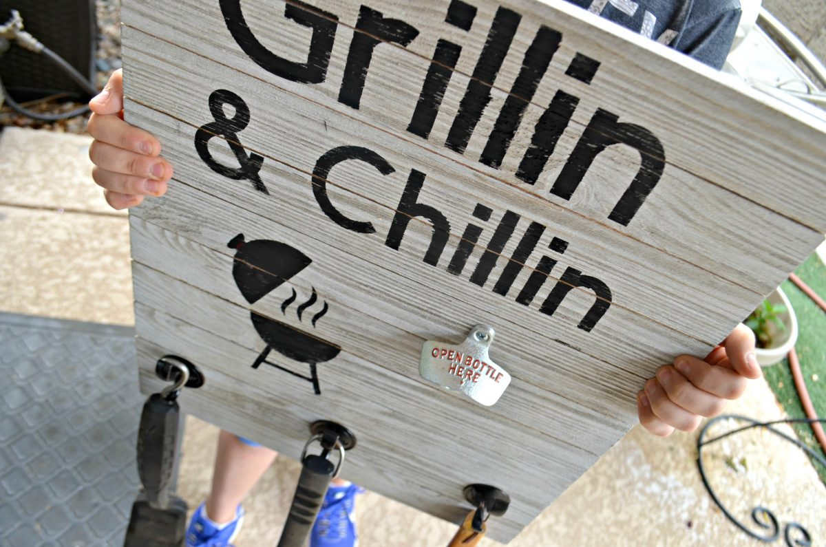 grill diy father's day gift