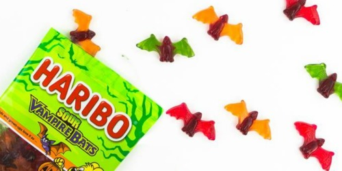 TWELVE Haribo Sour Vampire Bat Gummies 4 Ounce Bags Only $6.17 (Ships w/ $25 Amazon Order)