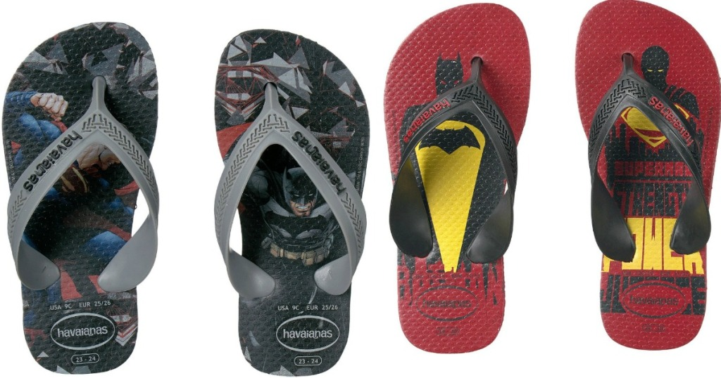 13ba1c547 Havaianas Kids Max Heroes Flip Flops As low as  9.99 shipped (regularly  22)