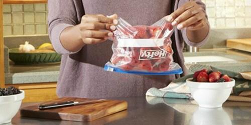 Hefty Slider Freezer Quart Storage Bags 105-Count Only $6.65 Shipped on Amazon (Regularly $13)