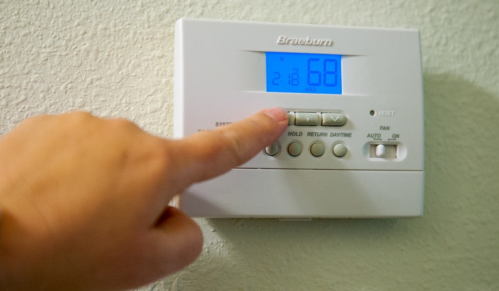 hotel room temperature can be changed in any season hip2save