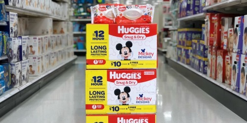 Earn FREE Diapers, Gift Cards, & More with Huggies Rewards Program (+ Get 500 Points for Signing Up!)