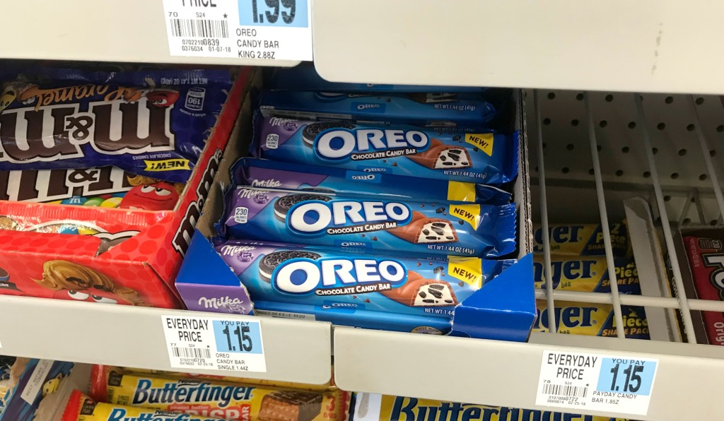 Rite Aid Oreo Candy Bars