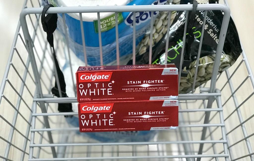 Rite Aid Colgate Optic White Toothpaste