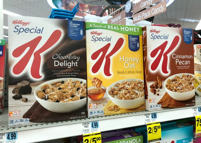 Rite Aid Special K Cereal