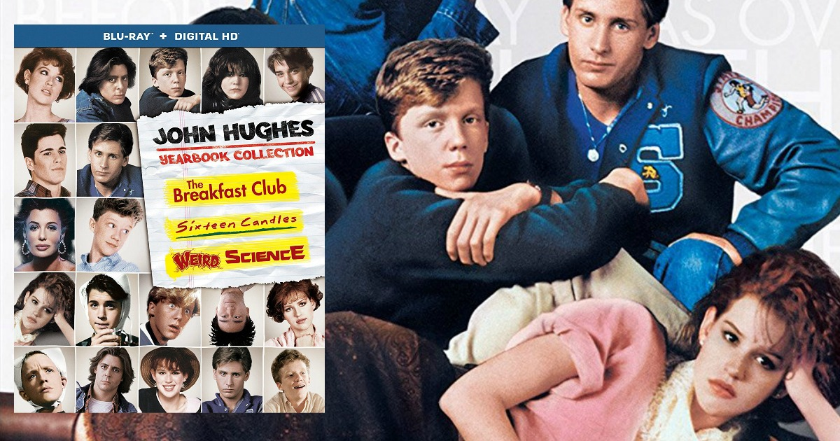 Amazon: Sixteen Candles,The Breakfast Club & Weird Science Blu-ray Collection Only $12.99 Shipped