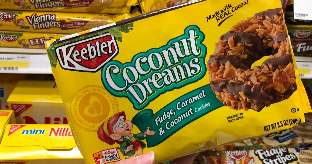 Amazon: Keebler Coconut Dreams Cookies 4-Pack Only $6.31 Shipped ...