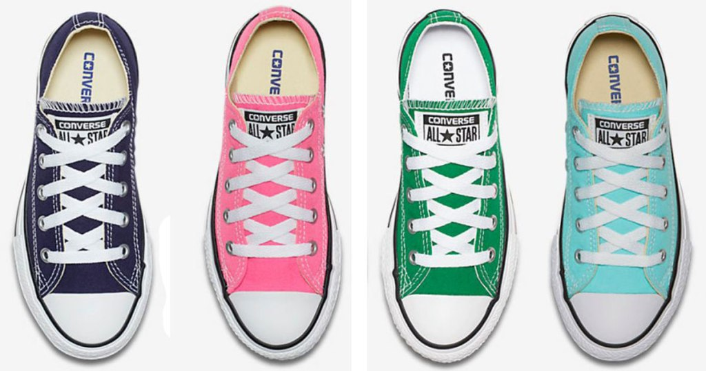Youth Converse Chuck Taylor All Star Seasonal Low Tops – select colors   24.97 (regularly  35) Use the code CHUCK25 (25% off clearance) – Note  Not  Valid on ... d19aa6ecc