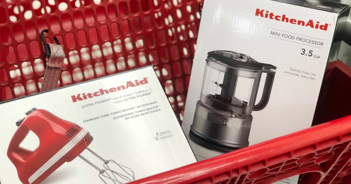 Up To 40 Off Kitchenaid Small Kitchen Appliances At Target Online In Store Hip2save
