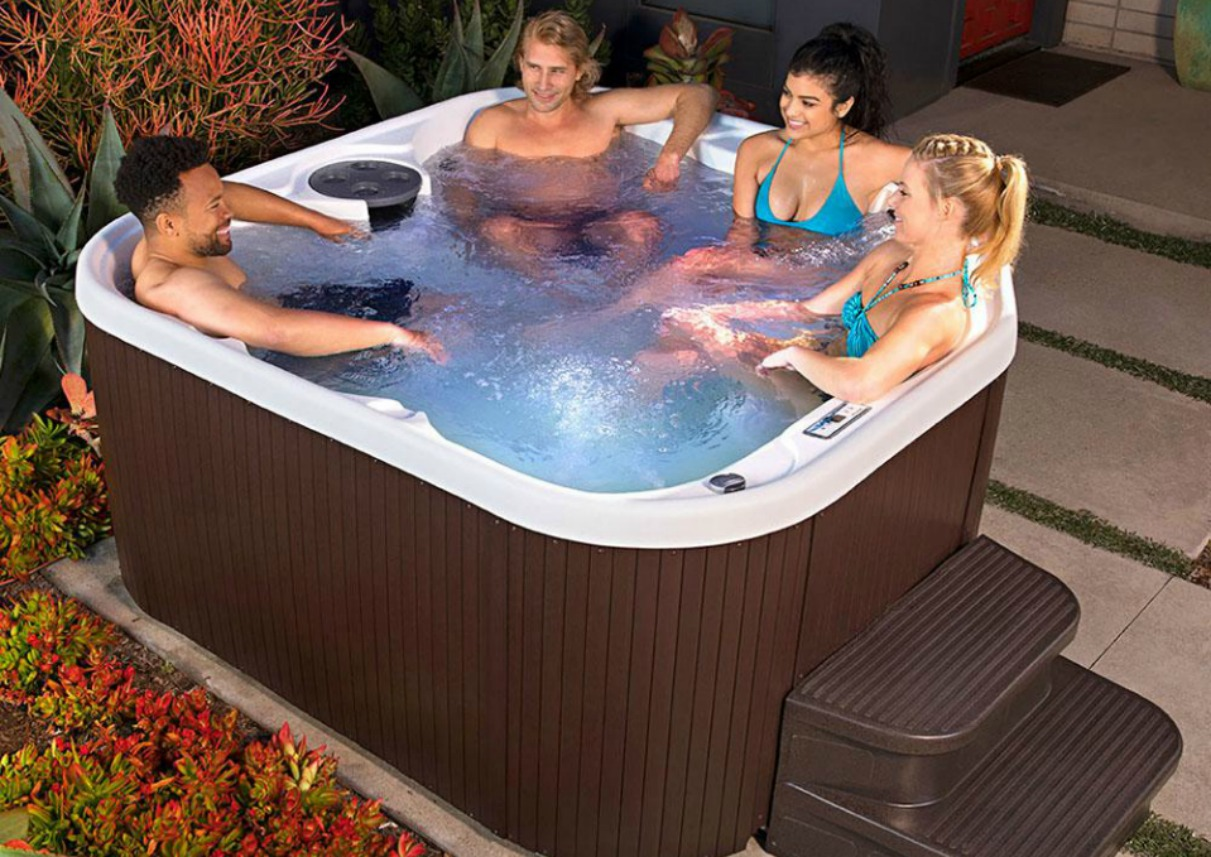 Home Depot 50 Off Lifesmart Hot Tubs W Free Delivery Hip2save
