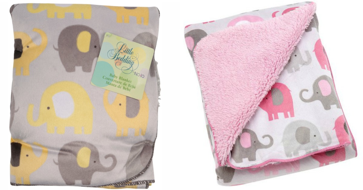 Cute Elephant Baby Bedding Items As Low As 4 98 At