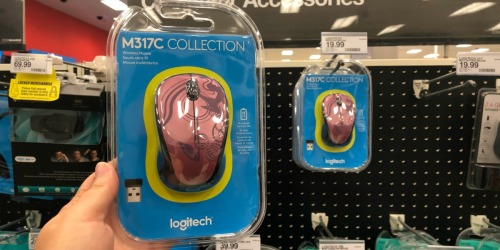 50% Off Logitech Wireless Mouse at Target