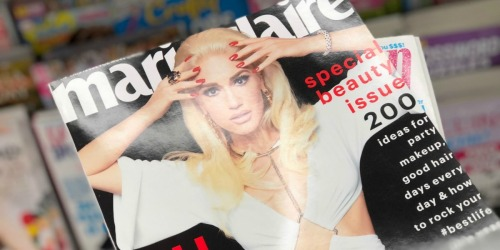 FREE 1-Year Subscription to Marie Claire Magazine