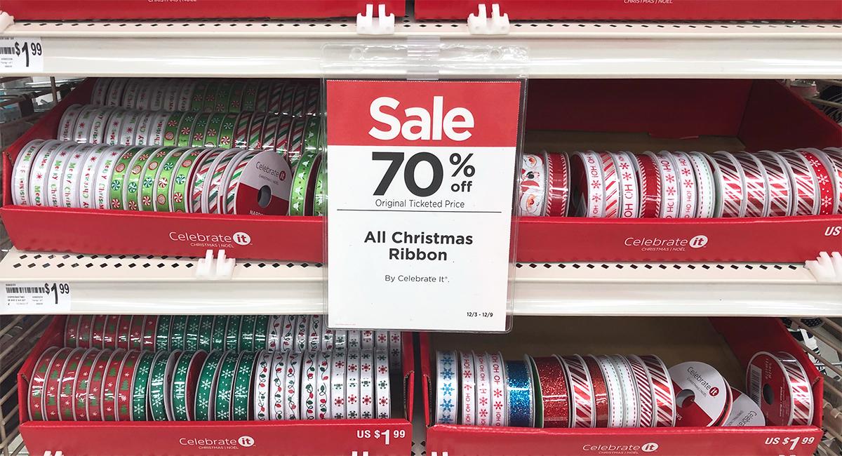 michaels christmas sale 2 weeks before christmas hip2save