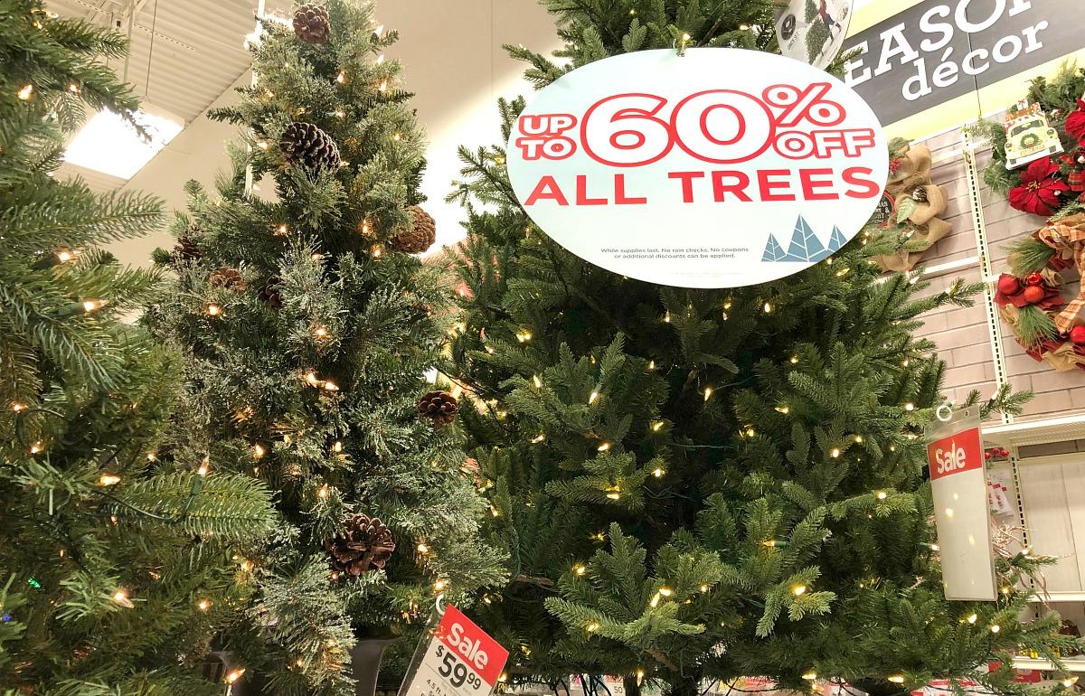 christmas tree sale at hip2save