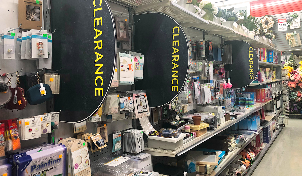 michaels clearance section hacks hip2save