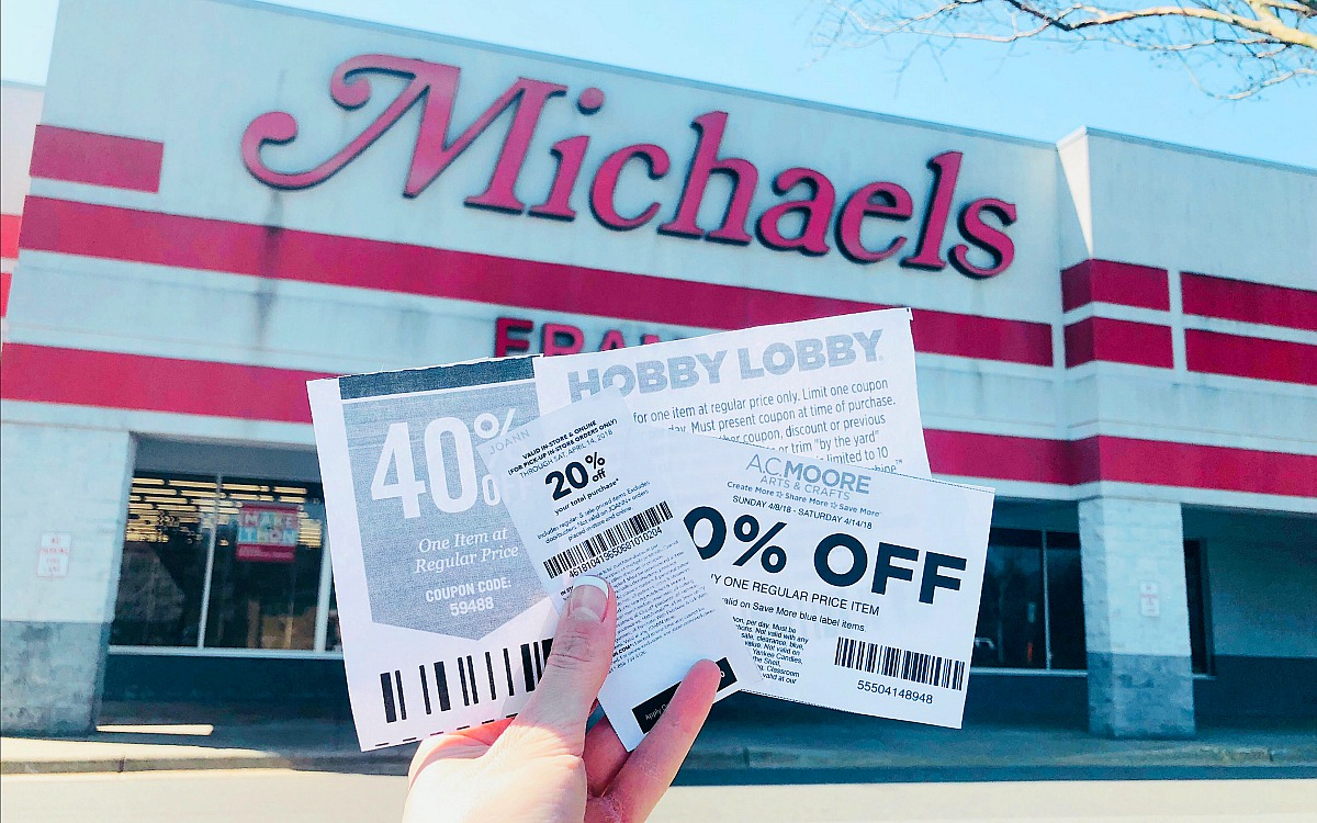 joann fabrics, ac moore, and hobby lobby coupons work at michaels hip2save