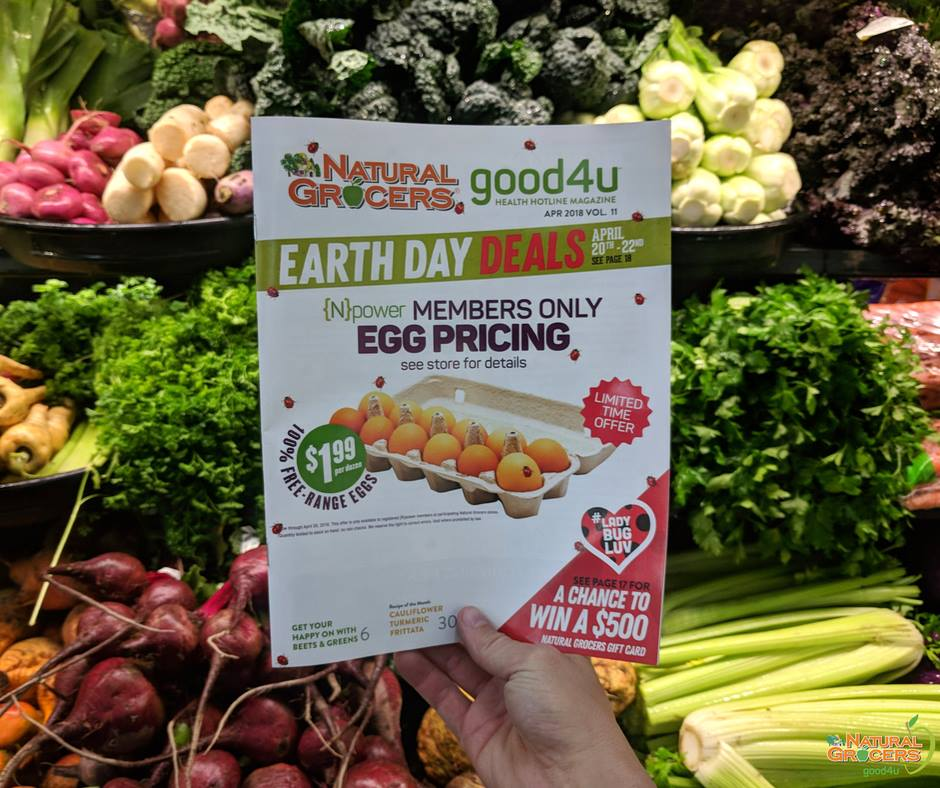 Natural Grocers Earth Day Deals